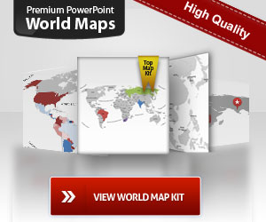 Download free editable Powerpoint Worldmaps, Maps, map templates for
