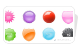 Badge Button Icons