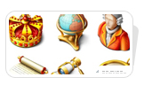 Free Royal Icon Set