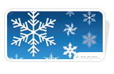 Free Snowflakes for PowerPoint